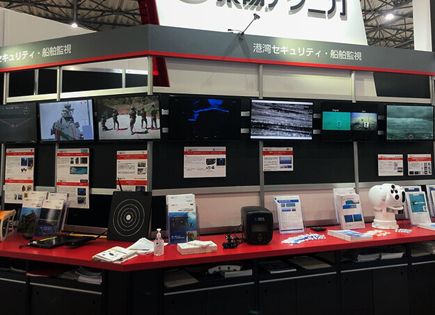 SeaErra products were introduced at SEECAT tradeshow in Tokyo Japan