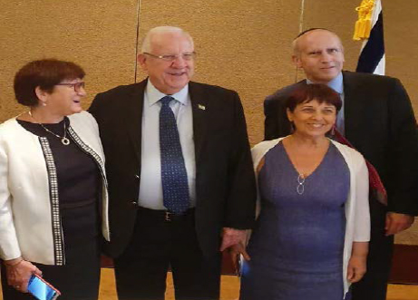 Israel economic delegation to Seoul with president Rivlin